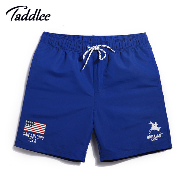 Taddlee Brand Men Swimwear Shorts Trunks Boardwear Man Active Boxer Trunks Mens Jogger Sweatpants Beach Swimsuits Quick Dry
