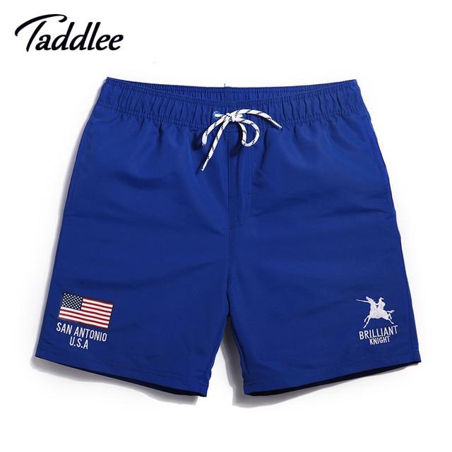 4cf523782306 Taddlee boardwear marca hombres trajes de baño cortos trunks hombre activo  boxer trunks hombres basculador pantalones de playa trajes de baño de ...