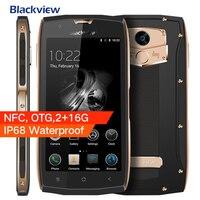 Original blackview BV7000 Android 7.0 IP68 impermeable teléfono móvil MTK6737T 5