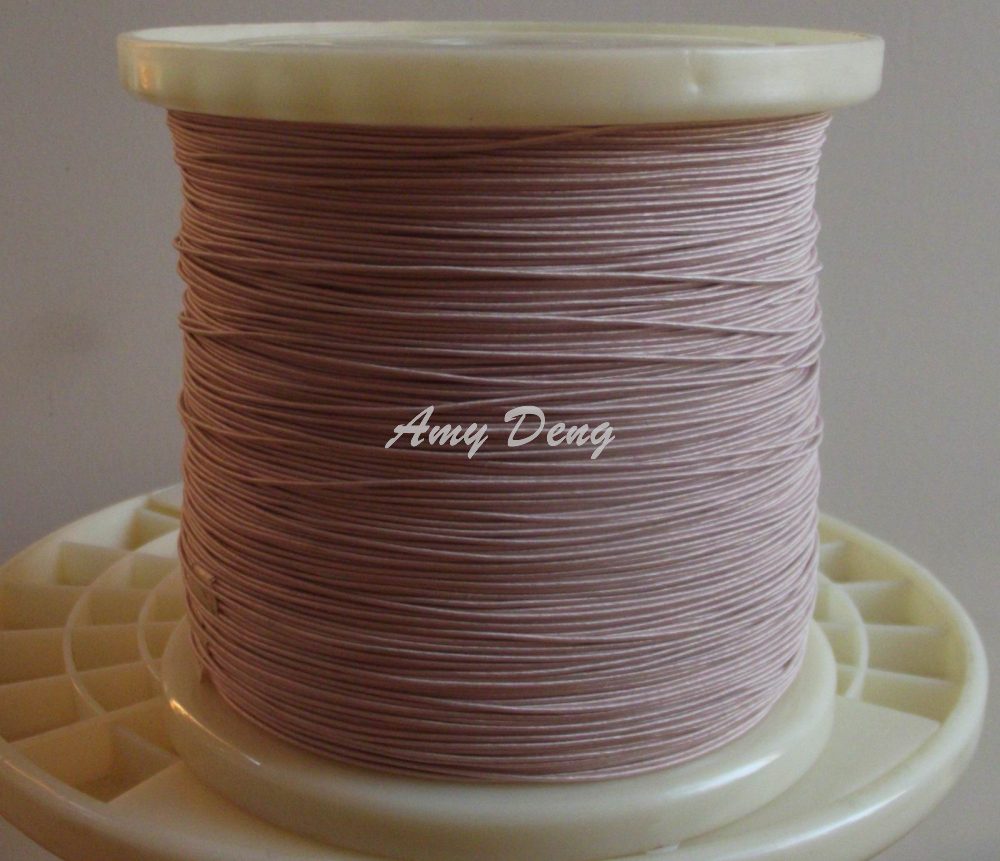 100 Meters/lot  0.1X50 Shares Its Antenna Litz Wire Mul Strand Copper Wire Polyester Wire