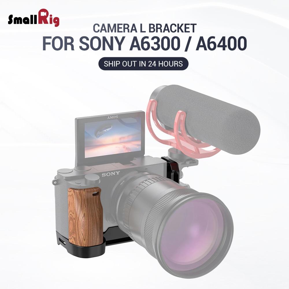 Petite Plate-forme A6400 L A6300 L-support pour Sony A6400 et A6300 avec plaque de Style Arca à dégagement rapide QR APL2331