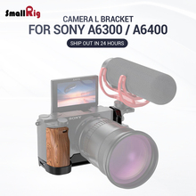 SmallRig A6400 L Plate A6300 L-Bracket for Sony and Feature with QR Quick Release Arca Style APL2331