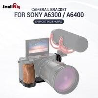 SmallRig A6400 L płyta A6300 l wspornik dla Sony A6400 i A6300 funkcja z QR Quick Release Arca styl płyta APL2331 w Monopody od Elektronika użytkowa na