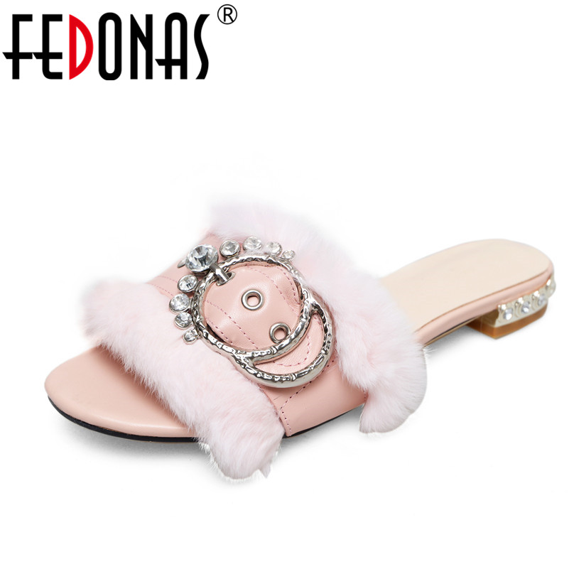 FEDONAS Women Sandals Summer Genuine Leather Shoes Woman Flip Flops Fashion Crystal Female Wedding Party Ladies Shoes Slippers hot fashion genuine soft leather flip flops women sandals front rear strap rhionestone slip on party wedding woman shoes