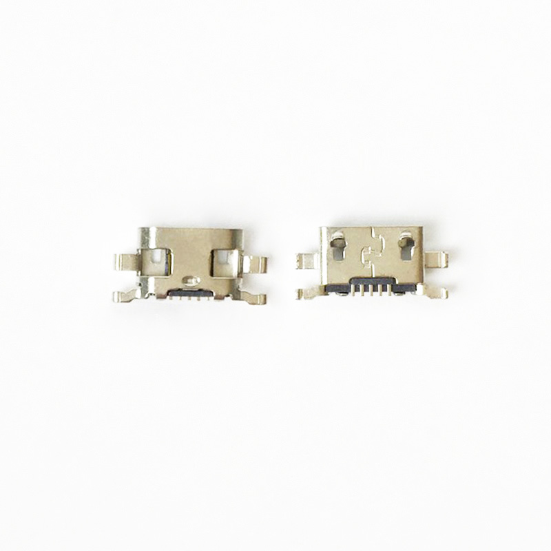 100pcs/lot Micro <font><b>USB</b></font> Socket Jack <font><b>Charging</b></font> <font><b>Port</b></font> Connector For <font><b>Nokia</b></font> <font><b>Lumia</b></font> 1320 <font><b>625</b></font> image