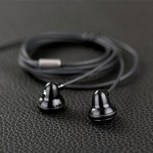 Image 2 - Ksearphone bell lb 3.5mm słuchawki douszne DJ Bass HIFI metalowe słuchawki 15mm dynamiczny napęd K słuchawki douszne słuchawki płaskie zatyczki do uszu