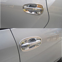 For Toyota Avensis 2009 2016 Chrome Door Handle Cover Accessories Stickers Car Styling Corolla 2010 2011