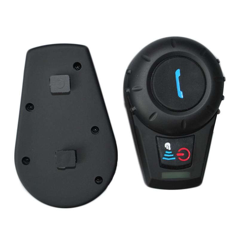 Newest + FM Radio! 500M BT Bluetooth Motorcycle Helmet Intercom BT Interphone Intercomunicador Motocicleta