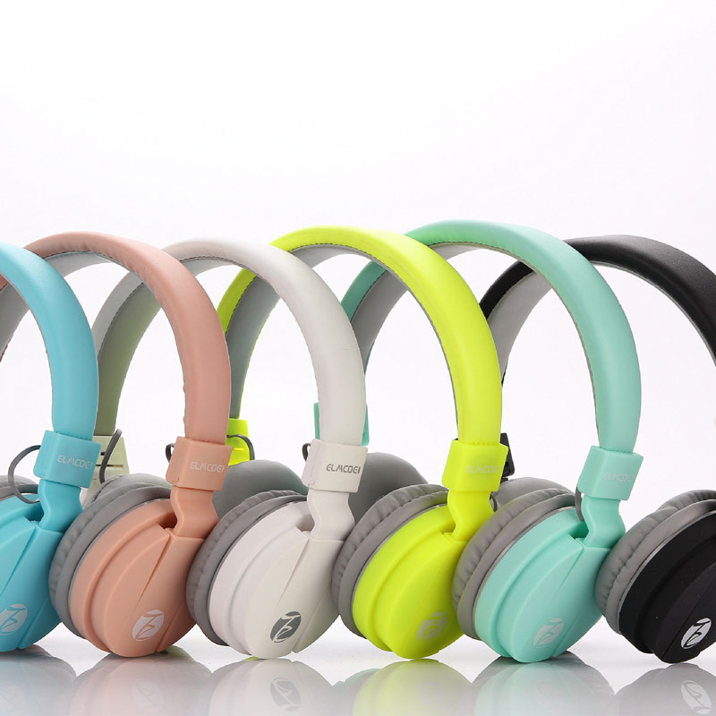 Birthday Gifts Cute Headphones Candy Color Foldable Kids Headset with Mic Earphone For Mp3 Smartphone Children With Retail Box zuczug hot birthday gifts cute headphones candy color foldable kids headset earphone for mp3 smartphone girl children pc laptop