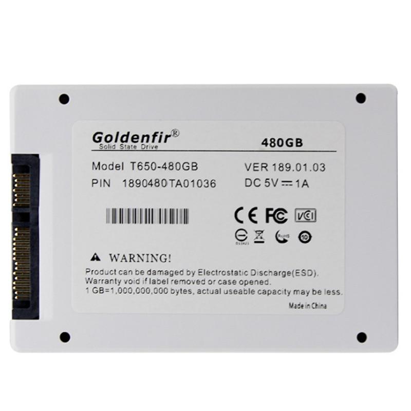 Goldenfir SSD 1 ТБ 2 ТБ 960GB 500GB 480GB 240 GB 120 GB внутренний жесткий диск для ноутбука ПК ноутбук SSD Sata 3 240 GB 120 GB 1 T