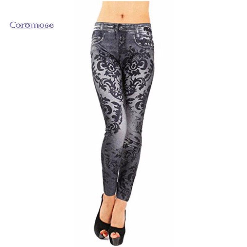 Popular Plus Size Leggings Jeans Denim Jeggings-Buy Cheap Plus ...