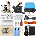 Professional Complete Tattoo Kits Set 2 Pro Machine Gun Complete Power Supply Needles  Tattoo Supplies