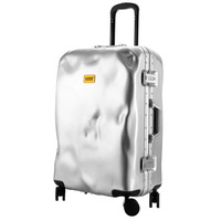 Letrend Retro Rolling Luggage Spinner Aluminium Frame Travel Bag Women Vintage Trolley 20 inch Men Carry On Suitcases Wheel