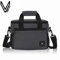 2017 VEEVAN Oxford Thermo Lunch Bags For Kids Women Thermal Bag Lunchbox Insulated Storage Container Picnic