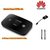 Huawei Unlocked HuaHuawei E5786s 62a 4G LTE Cat6 Mobile WiFi plus 2pcs antenna
