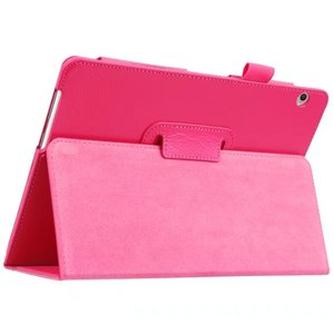 Image 2 - For Huawei Media Pad MediaPad T3 10 AGS WO9 AGS L09 9.6 inch Honor Play Pad 2 Cases Leather Smart Texture Tablet Cover