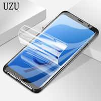 Protector de pantalla suave de película hidrogel de cubierta completa para iphone 5 y 5s se para iphone 6 6s 7 8 plus x 10 para iphone 7 8 6s Plus X Film