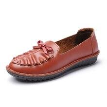 2016ร้อนใหม่รองเท้าไม่มีส้น,ผู้หญิงโลฟเฟอร์,ผู้หญิงแบน,หนังแท้วัวสุภาพสตรีรองเท้าสำหรับผู้หญิงรองเท้าลำลอง ,ผู้หญิงรองเท้า6-296