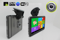 Newest 6 In 1 Android GPS Navigator MTK8127 1080P DVR 8G Flash Free Map FM BT