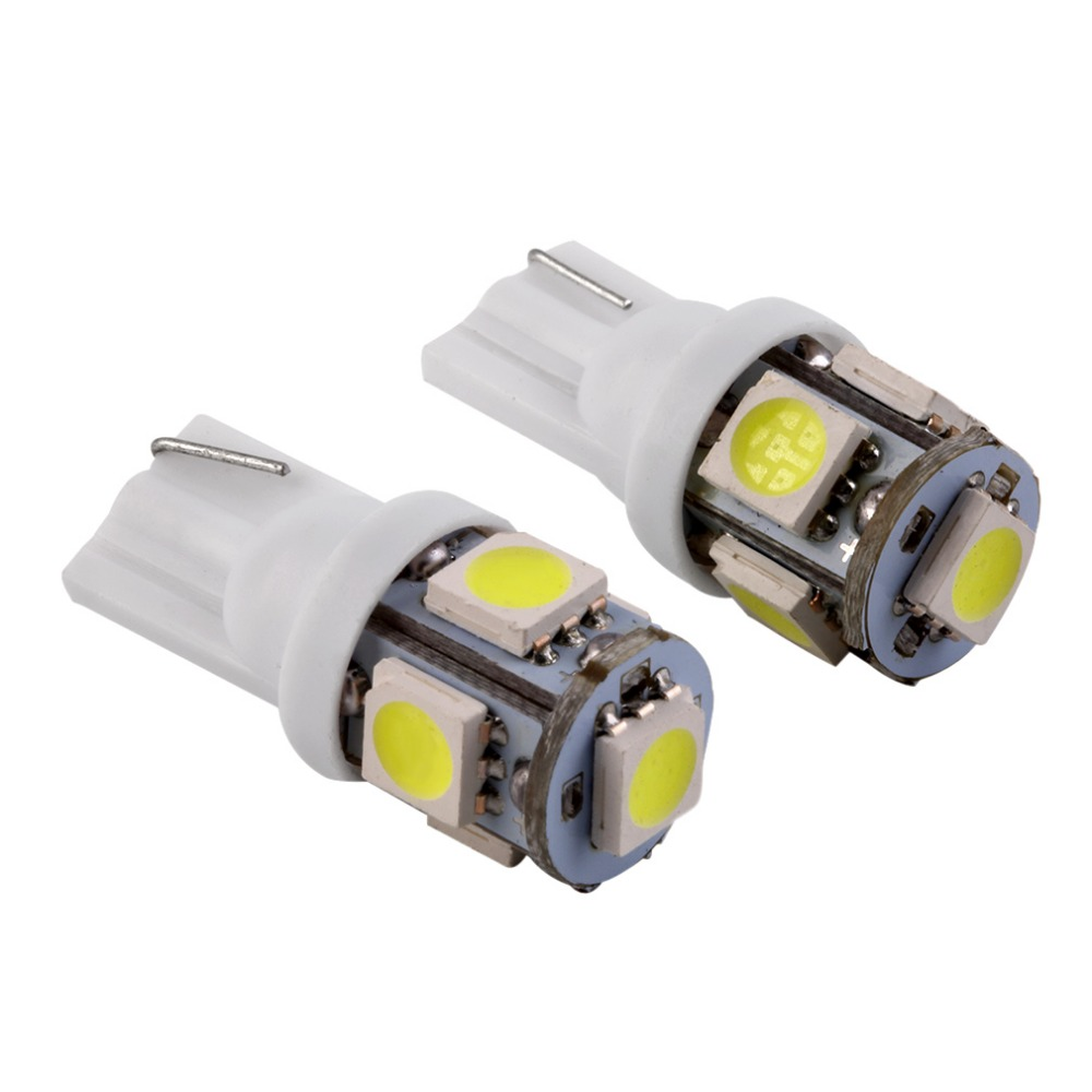 2pcs/lot Wholesale Canbus T10 5smd 5050 LED car led Light Canbus W5W 194 5050 SMD Error Free White Light Bulbs wholesale 10pcs lot canbus t10 5smd 5050 led canbus light w5w led canbus 194 t10 5led smd error free white light car styling