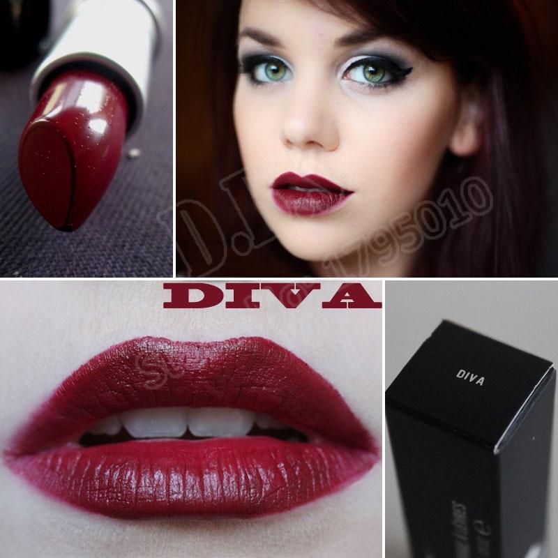 Red lipstick lips vampire