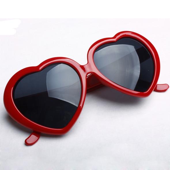 04f8b42cfc9 NEW Lovely Sunglasses Anti UV400 hip hop Women s Fashion sunglasses heart  shaped glasses Good quality oculos de sol F14-in Sunglasses from Apparel ...