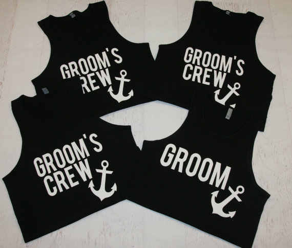 31abb43db Detail Feedback Questions about personalized wedding Grooms Crew groomsmen  tanks tops t shirts Bachelor Party gifts favors on Aliexpress.com | alibaba  group
