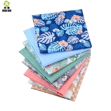 Shuanshuo Fabric Patchwork New Floral Tissue Cloth Of Handmade DIY Quilting Sewing Baby&Children Sheets Dress 40*50cm 8pcs/lot