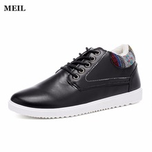 Men Shoes Fashion Flats  Leather Casual Shoes with Fur Warm Shoes for Winter Platform Lace up Boat Shoes genuine leather men casual shoes wool fur warm winter shoes for men flat lace up casual shoes men s flat with shoes fashion