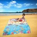 As Crianças Brincam Esteira de Praia tapete de Piquenique à prova d' água do bebê jogar mat Bebê Engatinhando Tapete infantil Tapete Tapete Cobertor Brinquedo do mar presente