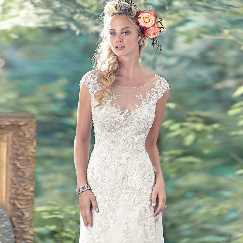 2017 White Long Robe De Mariage Bridal Gowns Vestidos De Novia Sexy Tulle Wedding Dresses Vintage See Through Wedding Dresses 3