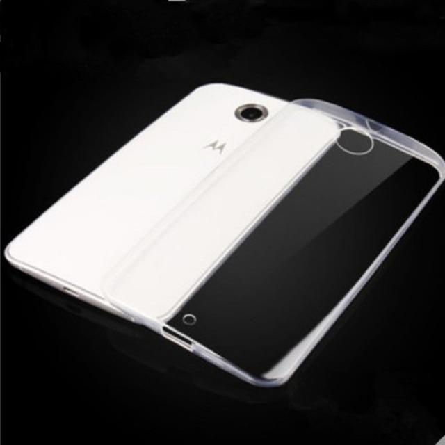 quality design 4dba5 f5133 For Google Nexus 6 Motorola Nexus6 Anti Scratches TPU Gel Premium Slim  Flexible Rubber Cover Fit Clear Soft TPU Protective Case-in Half-wrapped  Case ...