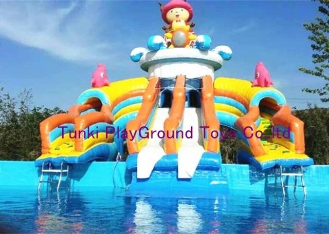 afb827ca5161be Water Pretpark Interactieve Huis te Kopen Glijbaan voor Zwembad in ...
