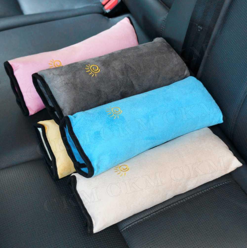 Crianças bebê cinto de segurança travesseiro cinto de carro almofada de pelúcia veículo ombro proteção carro-estilo