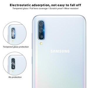 Image 5 - 2 trong 1 A70 Camera Kính trên Dành Cho Samsung Galaxy Samsung Galaxy A70 Tấm Bảo Vệ Màn Hình MỘT 70 Cường Lực Glam Bảo Vệ Ống Kính kính cường lực Phim