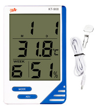 Promo offer Electronic Thermometer Hygrometer Digital Temperature and Humidity Meter Indoor and Outdoor Temperature KT-908