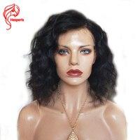 Hesperis Wave Human Hair Short Bob Wigs For Black Women Brazilian Remy Hair Lace Front Human