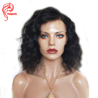 Hesperis Wave Human Hair Short Bob Wigs For Black Women Brazilian Remy Hair Lace Front Human