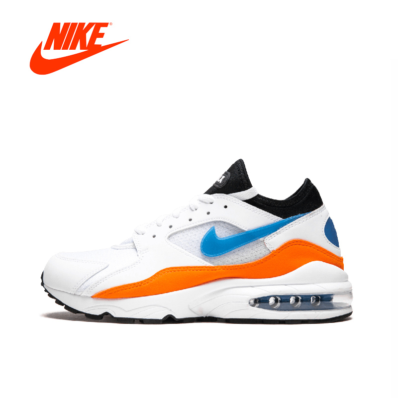 Original New Arrival Authentic NIKE Air Max 93 Mens Running Shoes Sneakers Breathable Sport Outdoor Good Quality 306551