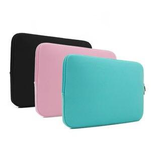 """Image 5 - Сумка для ноутбука с мягким рукавом, чехол для Macbook Air Pro Retina 13 11 15 14 """"для Mac, чехол для ноутбука, телефонный переходник для мыши, кабель"""