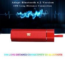 Altoparlante senza fili del Bluetooth Portatile Impermeabile Esterna Mini Colonna di Sostegno Speaker Radio FM della carta di TF Stereo HiFi Subwoofer Scatole
