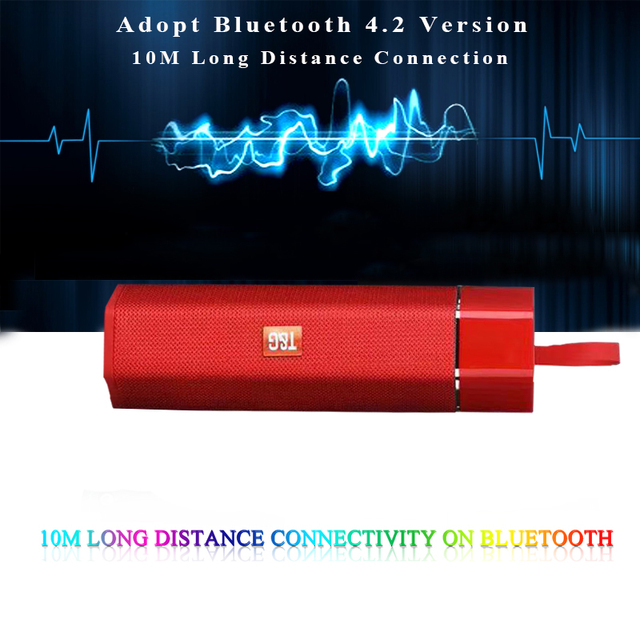 אלחוטי Bluetooth רמקול עמיד למים נייד חיצוני מיני טור רמקול תמיכת רדיו FM TF כרטיס סטריאו HiFi סאב Boxs