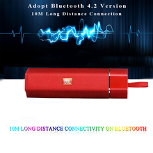 Kablosuz bluetooth Hoparlör Su Geçirmez Taşınabilir Açık Mini Sütun Hoparlör Desteği FM Radyo TF kart Stereo HiFi Subwoofer Boxs