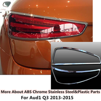 High Quality For Q3 2013 2015 Car Body Rear Tail Back Light Lamp Detector Frame Stick