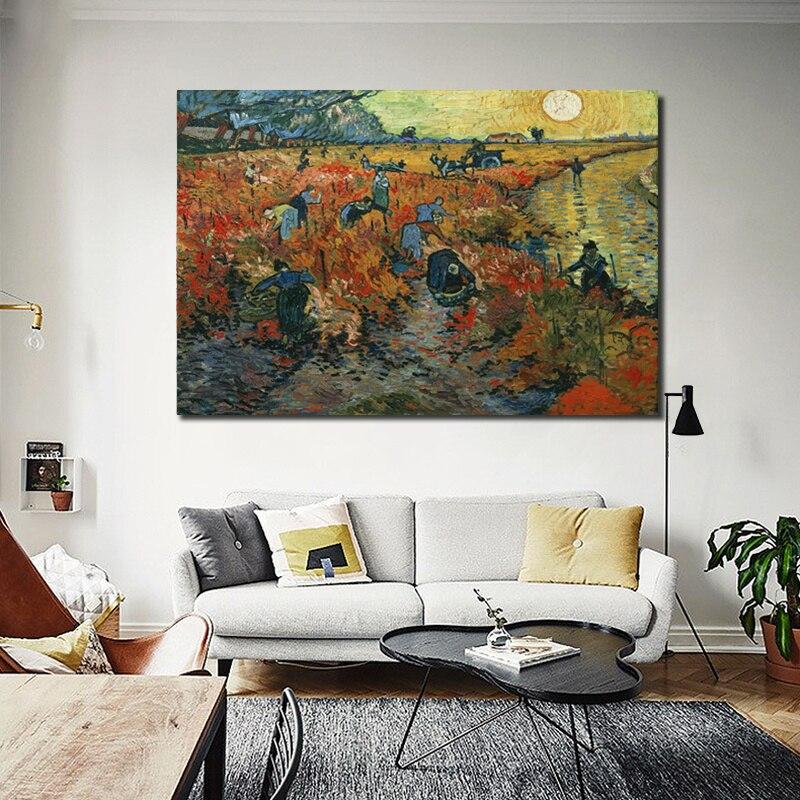 Pinturas de Van Gogh Impressões em Tela Impressionista Paisagem Wall - Decoração de casa - Foto 2