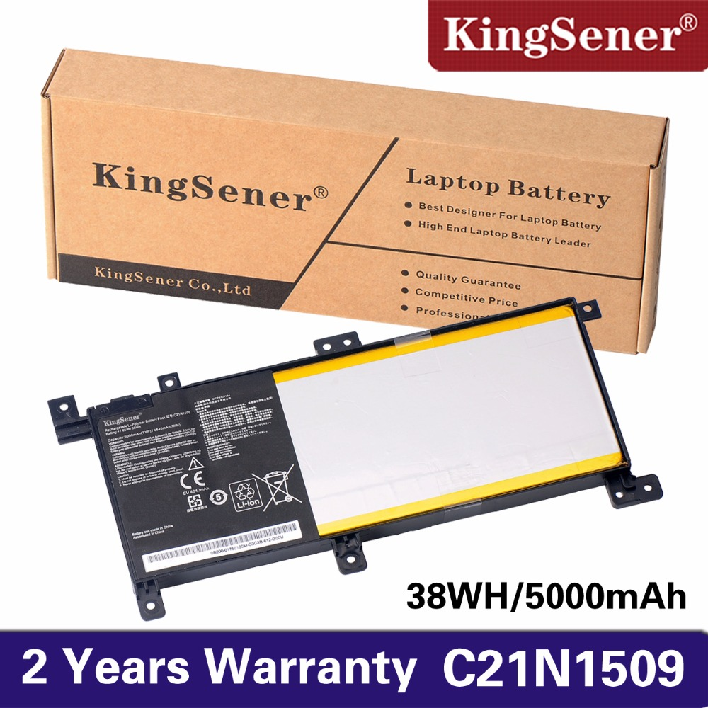 KingSener New C21N1509 Laptop battery for ASUS Notebook X556UA X556UB X556UF X556UJ X556UQ X556UR X556UV A556U FL5900U i7 7500 8gb gt940m rev 3 1 3 0 ddr4 x556uv x556uqk motherboard for asus x556u x556uj x556uf x556ur laptop motherboard mainboard