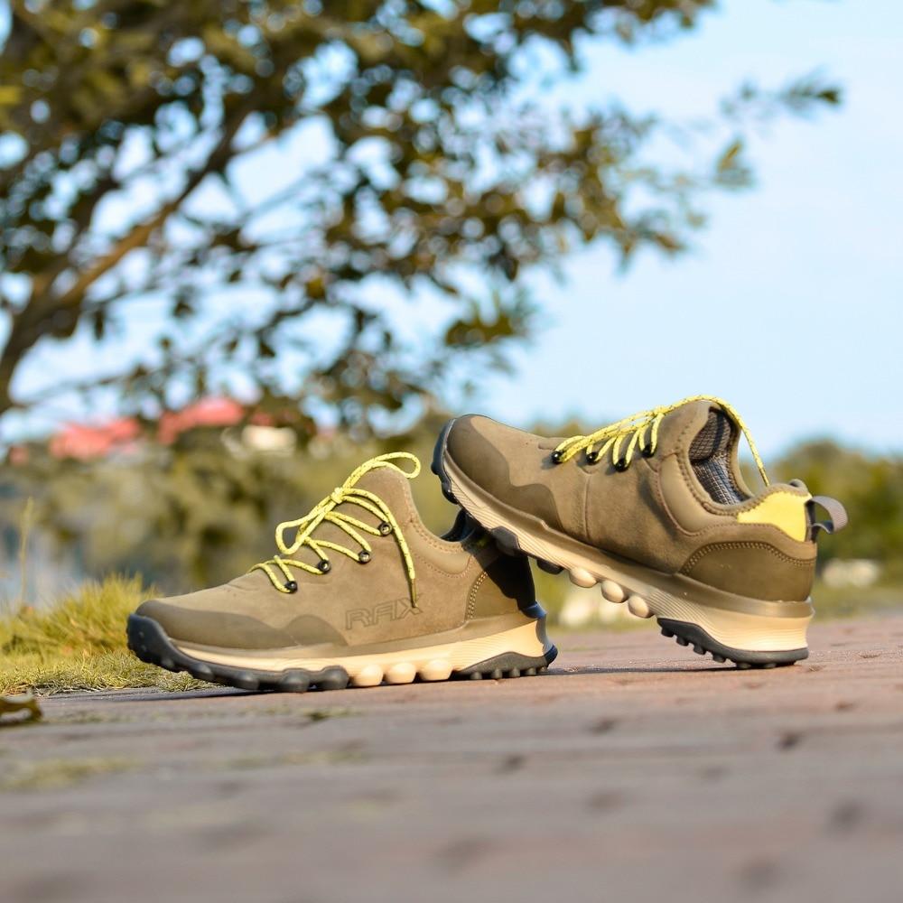 RAX Men Hiking Shoes Women Outdoor Sports Sneakers Trainers Trekking Woman Sneakers Sapatos Masculinos Lightweight Mountain Shoe new women hiking shoes outdoor sports shoes winter warm sneakers women mountain high tops ankle plush zapatillas camping shoes