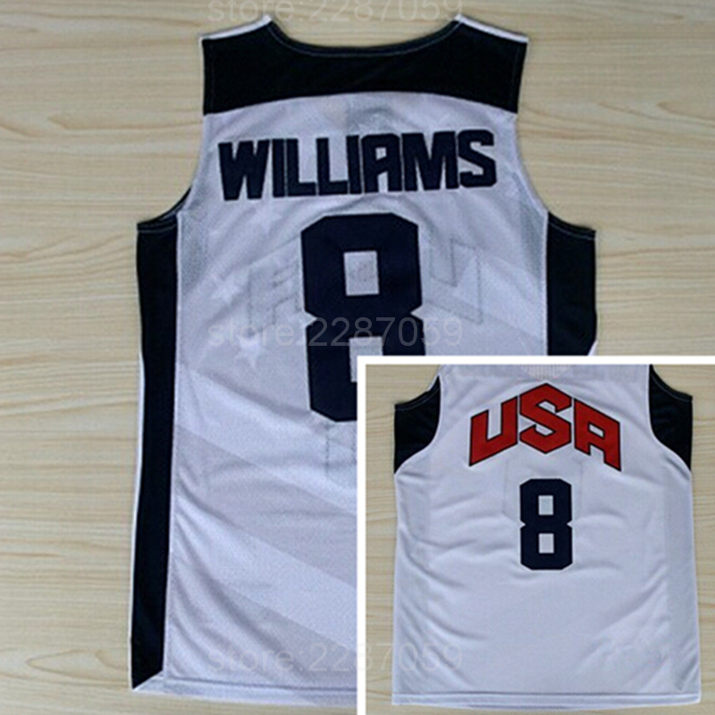 d2d07b305b1e Buy Ediwallen Hottest mEN 8 Deron Williams Jersey 2012 USA Dream Team Ten Basketball  Jerseys Cheap Blue White Stitched - Fansedge Online Store store at ...