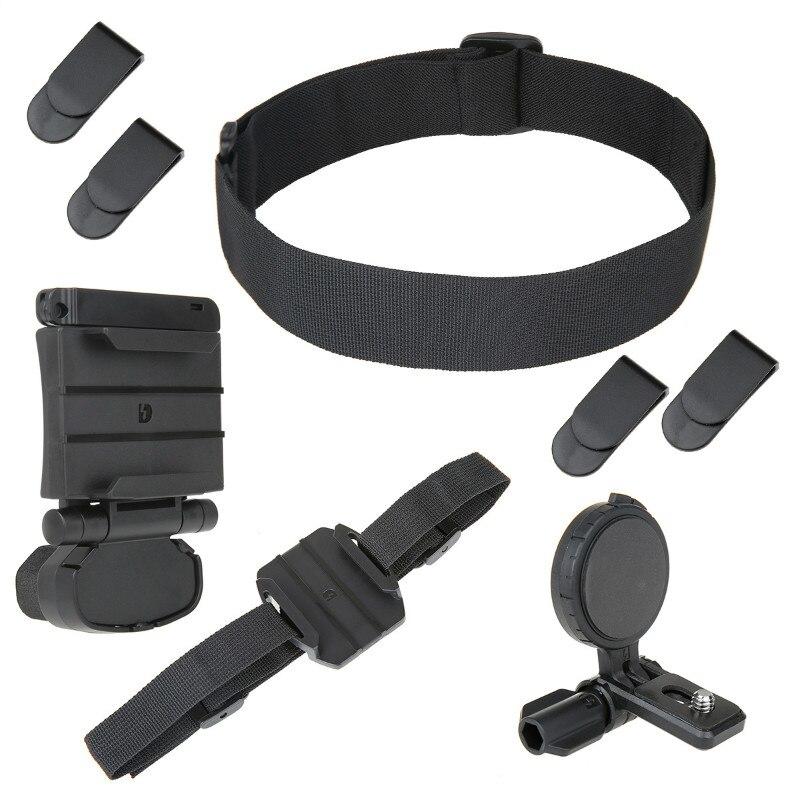 DZ-UHM1 Kit de montaje de cabeza universal para Cámara de Acción Sony HDR AS30V/AS100V/AS15