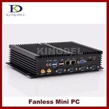 Безвентиляторный htpc intel celeron 1037u/core i5 3317u двухъядерный, 2 * LAN, 4 * COM, USB 3.0, wi-fi, hdmi, неттоп, mini pc, промышленный компьютер